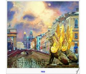 Алмазная мозайка «Банковский мост» 30х40