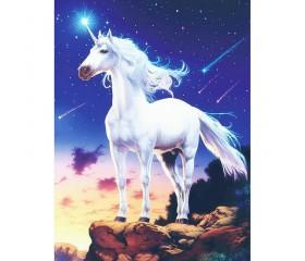 Алмазная мозайка «Звездный конь» 30х40