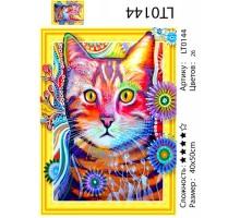 Алмазная мозаика 3D « Звездный кот» 40х50