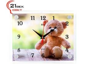 Часы настенные «Мишка»