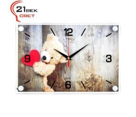 Часы настенные «Плюшевое сердце»