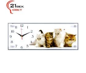 Часы настенные «Милые котятки»