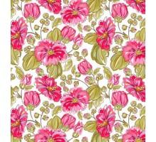 Бумага 1*70 Дизайнерская бумага «Нарцисы» 78г/м2