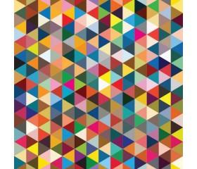 Бумага 1*70 Дизайнерская бумага «Абстракция 3» 78г/м2