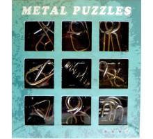 Набор из 9-ти головоломок металл