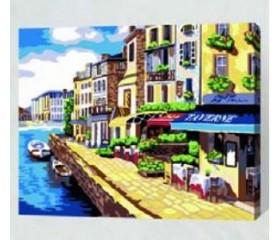 Картина-раскраска по номерам «Летний день»