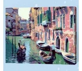 Картина-раскраска по номерам «Венеция»