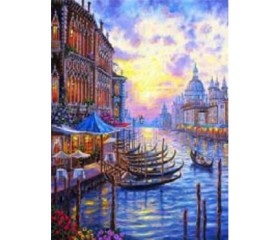 Картина-раскраска по номерам «Утро в Венеции»