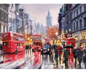 Картина-раскраска по номерам «Лондонский мотив»
