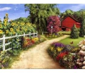 Картина-раскраска по номерам «Дорога домой»