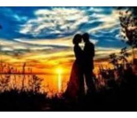 Алмазная мозайка «Влюбленные» 30х40