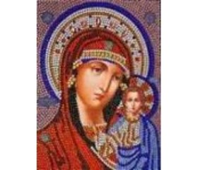 Алмазная мозайка «Казанская Божья Матерь» 30х40