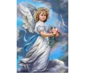 Алмазная мозайка «Ангел» 30х40