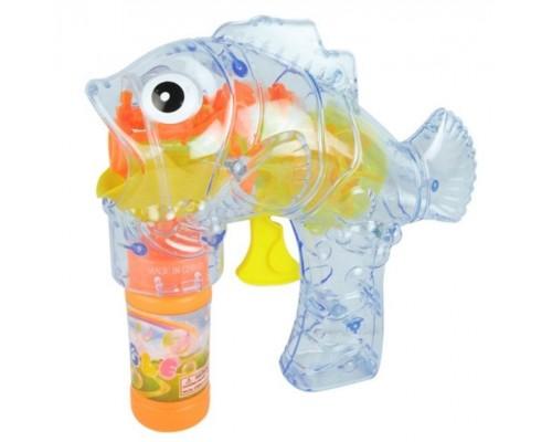 Мыльные пузыри пистолет рыбка