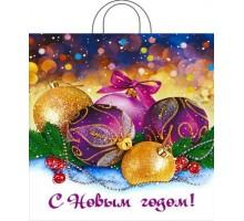 Пакет полиэтиленовый «Декабрь» ПВД 38*42/40 мкр