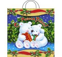 Пакет полиэтиленовый «Белые медведи» ПВД 38*42/40 мкр