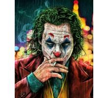 "Картина-раскраска по номерам 40x50 ""Джокер"""