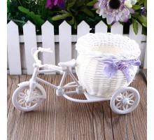 Кашпо «Велосипед» 23х11х13см