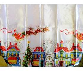 Скатерть новогодняя 120x150см