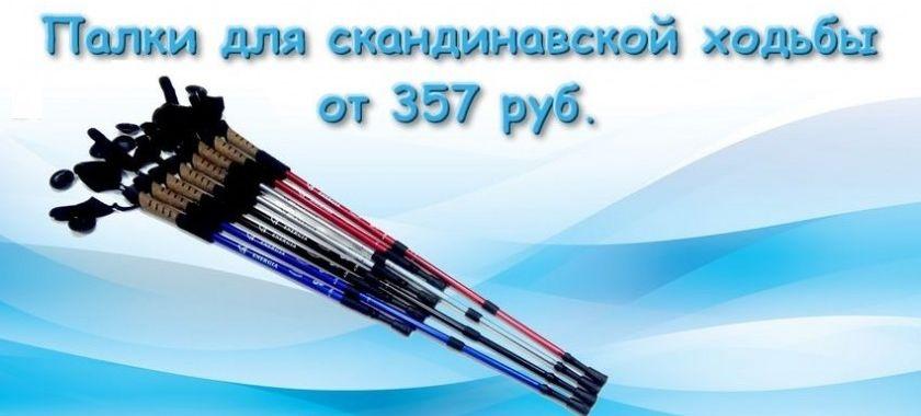 палки для скаднинавской ходьбы