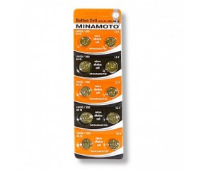 Батарейки MINAMOTO AG10/LR1130/390
