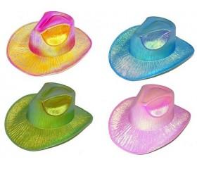 Карнавальная шляпа перламутр