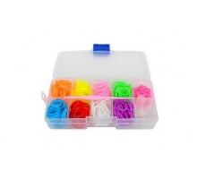 Набор для плетения в пласт.боксе: 300 резинок, крючок, s-клипсы