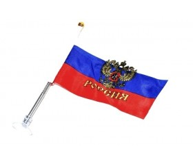 Флаг российский на присоске