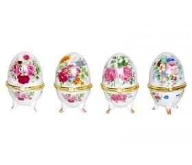 """Шкатулка  """"Пасхальное яйцо: розы"""""""