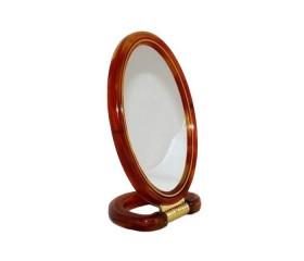 """Зеркало настольное пластик """"Овал"""""""
