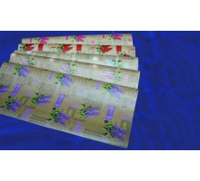 Крафт бумага «Сирень» 70см х 10м