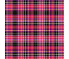 Бумага 100*70 Дизайнерская бумага «Шотландка Красная»