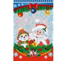 Пакет п/п мет. «Дед Мороз и снеговик»