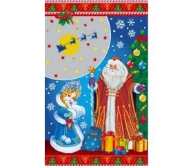 Пакет п/п мет. «Дед Мороз и Снегурочка»