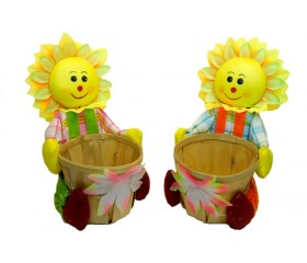 Сувенир с корзинкой для мелочей «Масленица»