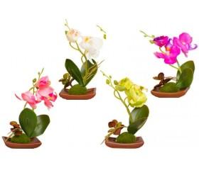 """Цветок в блюде """"Орхидея"""""""