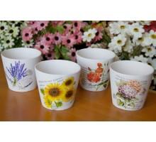 Кашпо для цветов керамика