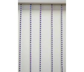 """Шторы """"Бусины"""" фиолетовые"""