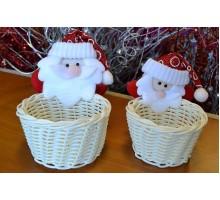 Набор из 2-х корзинок «Дед Мороз»