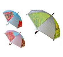 Зонт-трость полуавтомат детский