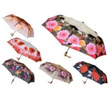 """Зонт полуавтомат """"Цветы"""""""