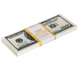 Банкнота банка приколов «100 долларов»