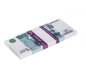 Банкнота банка приколов «1000 рублей»