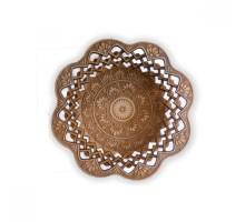Тарелка средняя круглая №2 (гравировка)