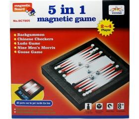 Набор настольных игр  5в1