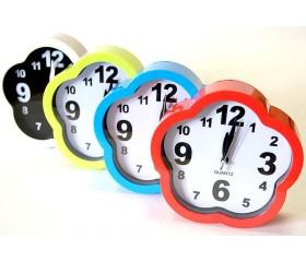 Часы настольные-будильник «Ромашка» D=15 см