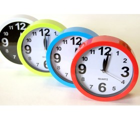 Часы настольные-будильник «Круг» D=15 см