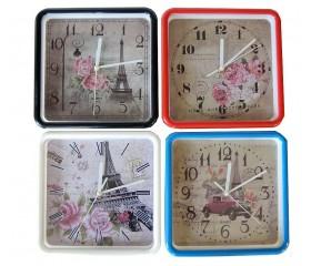 Часы настенные «Квадрат» 22х22 см