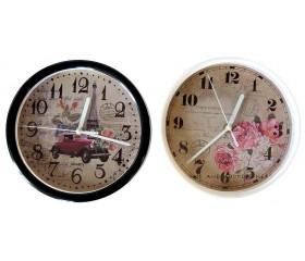 Часы настенные круглые D=22 см