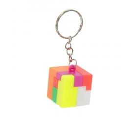 Головоломка-брелок кубик 2.5см